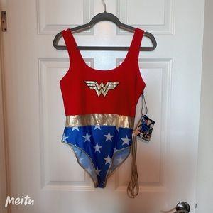 Forever 21 Wonder Woman Bodysuit